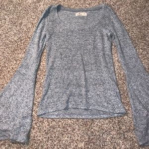 hollister gray sweater